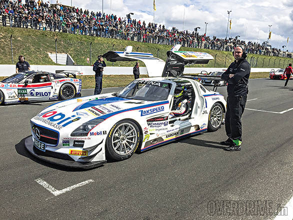 The crowds were out in full force at Oschersleben