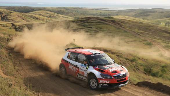 Gill currently second in 2015 APRC standings