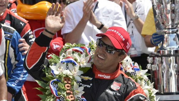 A second win for JPM at the Indy500, no less than 15 years after his first victory at the Old Brickyard