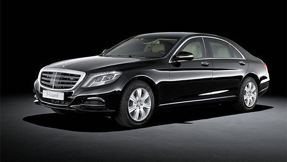 2015 Mercedes-Benz S 600 Guard launched in India at Rs 8.9 crore