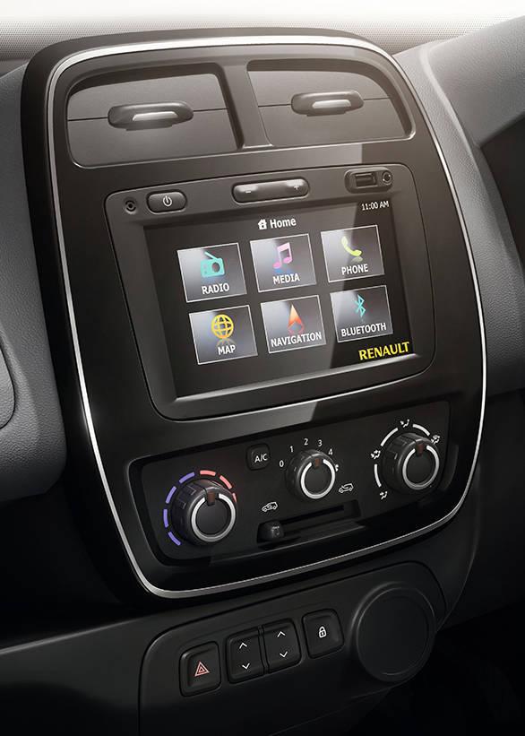 Renault KWID MediaNav system