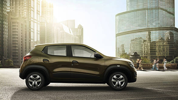Renault KWID side-on still photograph