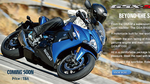 Suzuki launches GSX-S 1000 at Rs 12.25 lakh and GSX-S 1000F at Rs 12.70 lakh in India