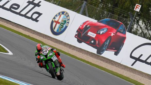 Sykes has managed to take three double wins at Donington Park