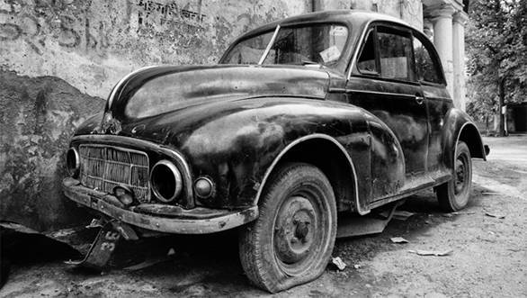 Car graveyards: Classic cars left to rust in peace
