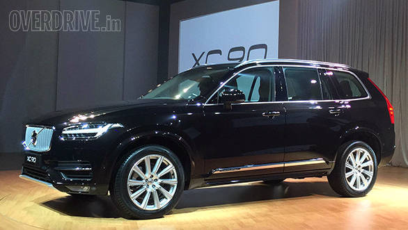 2015 Volvo Xc90 D5 Launched In India At Rs 649 Lakh Overdrive