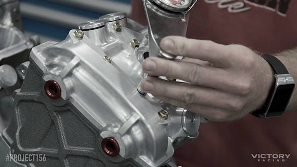 First pictures of the prototype engine