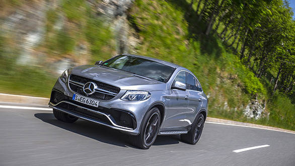 Mercedes-Benz Driving_Launch GLE_GLE_Coupe Kitzbuehel_June_2015