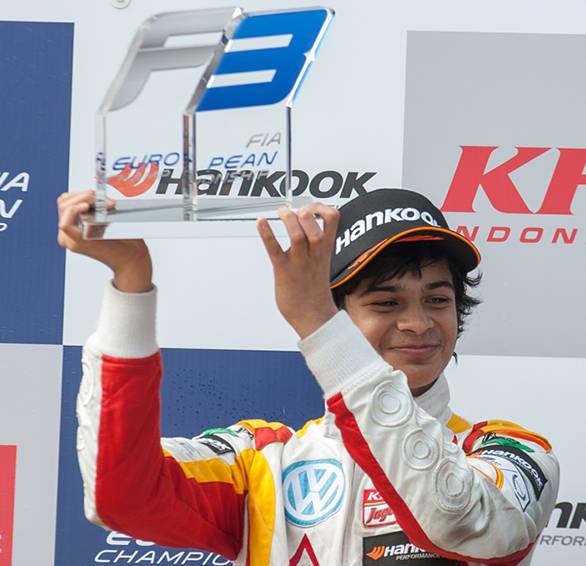 Arjun Maini Formula 3 Monza