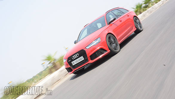 Audi RS 6 Avant first drive review