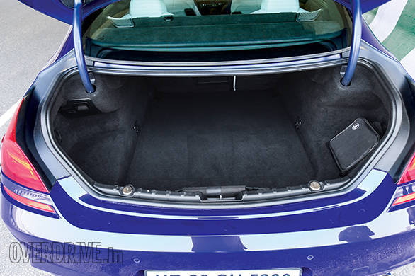 This sportscar comes with 460 litres of luggage space.