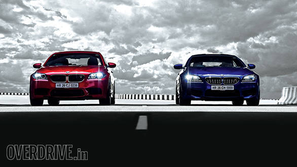 2014 BMW M5 sedan and M6 Gran Coupe road test review (India)