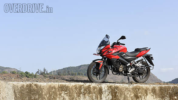 The Bajaj Pulsar AS150