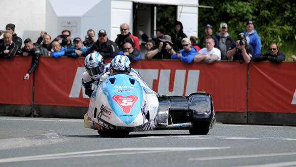 The Birchall Brothers were unstoppable in Sure Side Car Race One