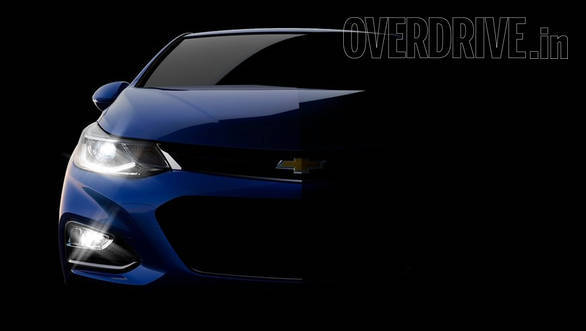 The India-spec Cruze will most likely get the 1.6-litre Ecotec diesel and the 1.4-litre turbopetrol