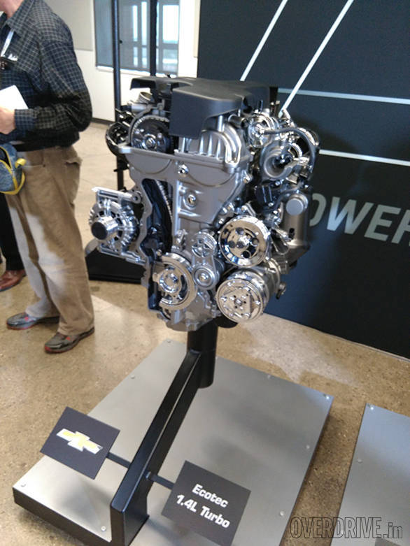 The new 155PS 1.4-litre turbopetrol Ecotec engine