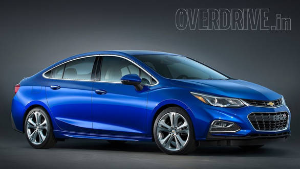 The new Chevrolet Cruze boasts a sleeker design than before