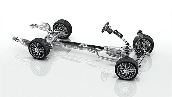 CLS 63 AMG, AMG RIDE CONTROL Sportfahrwerk