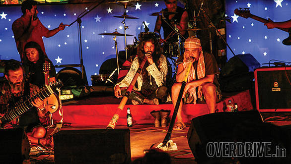 Goa is famous for its fusion music scene