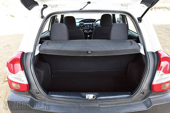 The Etios Cross has the smallest boot -   /><span>The Etios Cross has the smallest boot</span></p> <p class=