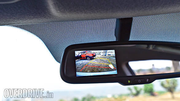 The Active has a huge features list and is the only car here with a reverse camera