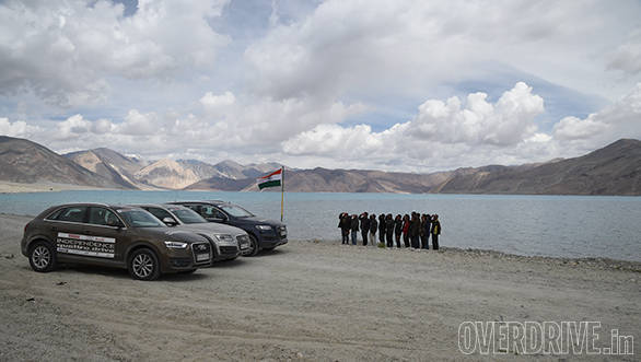 OVERDRIVE Independence Quattro Drive all set to hoist Tricolour in Ladakh