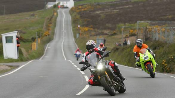 Isle of Man TT practice sessions cancelled due to poor weather in Douglas
