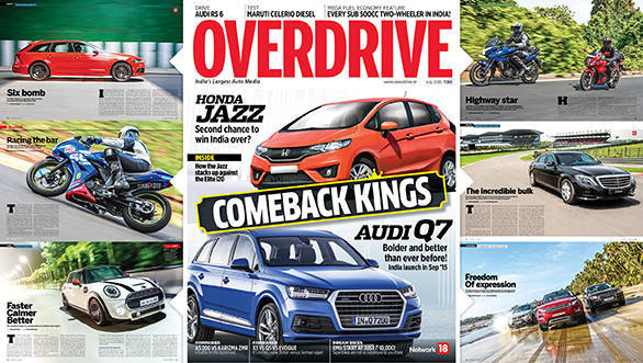July 2015 issue of OVERDRIVE out on stands now