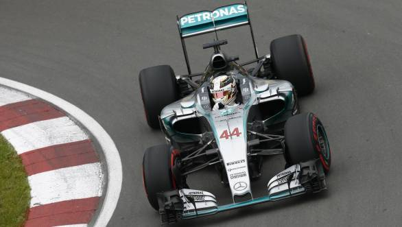 2015 F1: Lewis Hamilton wins Canadian GP