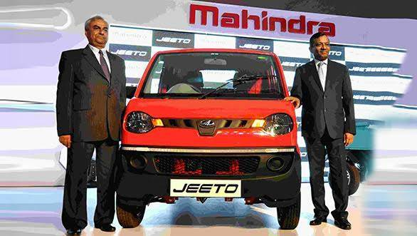 Mahindra Jeeto mini-truck launched in India at Rs 2.35 lakh