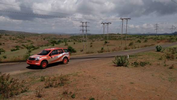 At the end of Leg 1, Gaurav Gill and Musa Sherif lead the 2015 Rally of Maharashtra