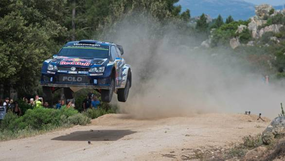 WRC 2015: Ogier takes third consecutive Rally Sardinia victory