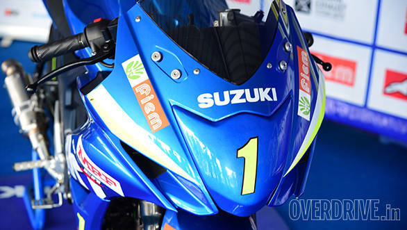 Suzuki Gixxer SF race bike (10)