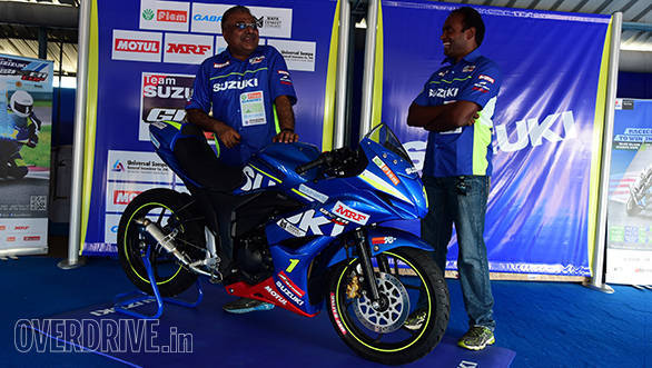Suzuki Gixxer SF race bike (15)