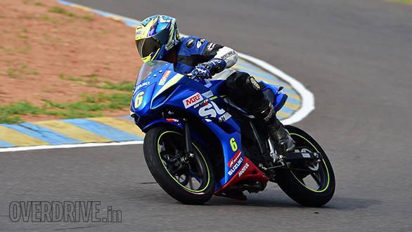 Suzuki Gixxer SF race bike (17)