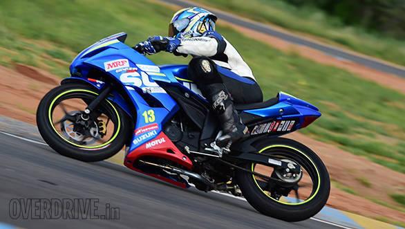 Suzuki Gixxer SF race bike (4)