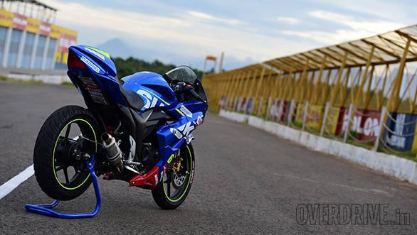 Suzuki Gixxer SF race bike (5)