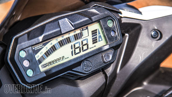 The updated digital meters are slightly easier to read but the version 2 upgrade just creates a slightly crisper, more fuel efficient motorcycle without messing with an already effective package