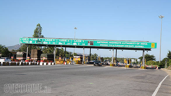 Toll booths in India