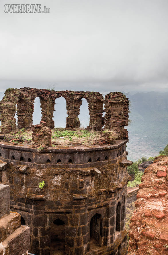 Most of the forts were destroyed by war but some portions have stood the test of time