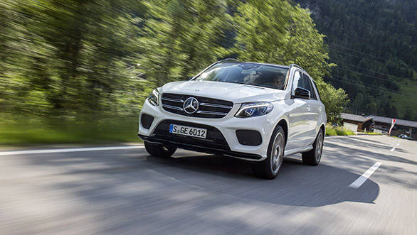 The GLE 350d 4Matic