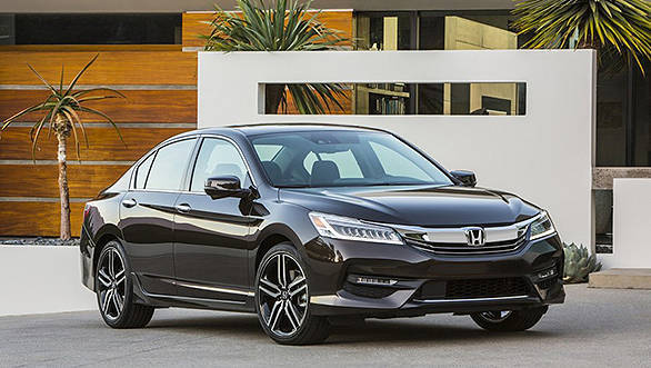 2016 Honda Accord revealed Overdrive