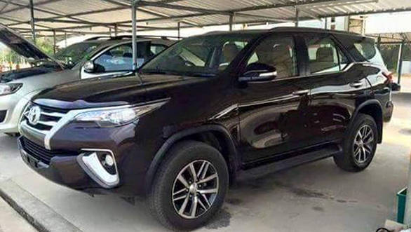 All new 2016 Toyota Fortuner spotted in Thailand sans  camouflage