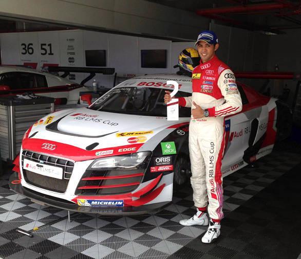 Audi R8 LMS Aditya Patel 1