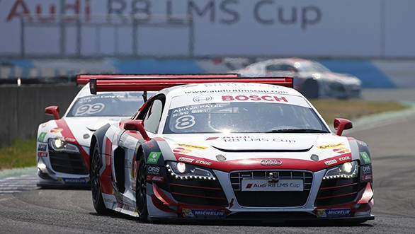 Aditya Patel (IND) Audi R8 LMS Cup Team at Audi R8 LMS Cup, Penbay International Circuit, Tawain, 3-5 July 2015.
