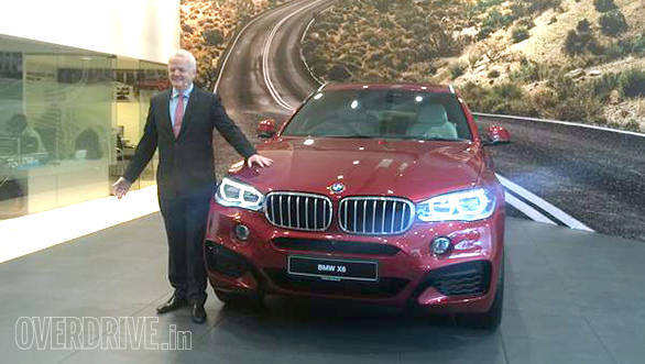 2015 BMW X6 launched in India at Rs 1.15 crore