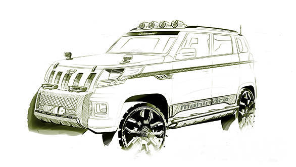 Mahindra SUV codenamed U301 to be launched in India as the TUV300