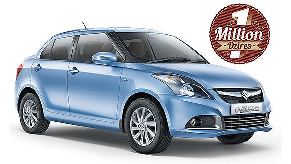 Maruti Suzuki Swift Dzire crosses the one million units ...