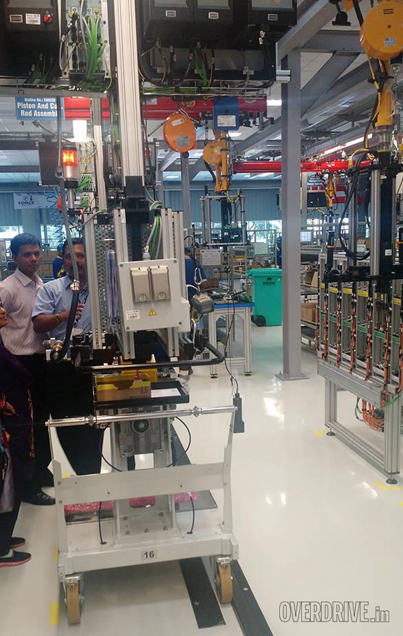 Force Motors Chennai plant