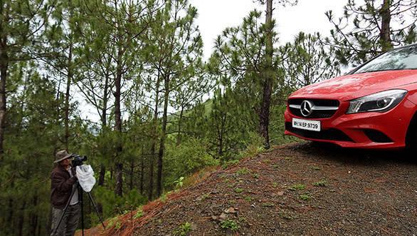 Mercedes-Benz Frame the Star: Naldehra to Chandigarh